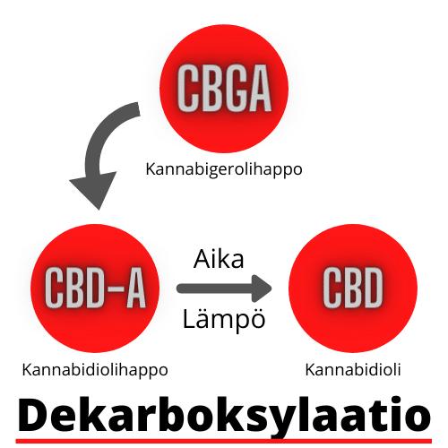 dekarboksylaatioa_cbda_cbd_cbg_cannabidiol_kannabidioli
